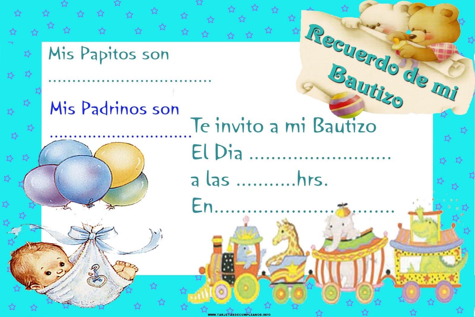 Ver tarjetas de cumpleños de bautismo