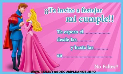 Ver tarjetas de cumpleaños princesas