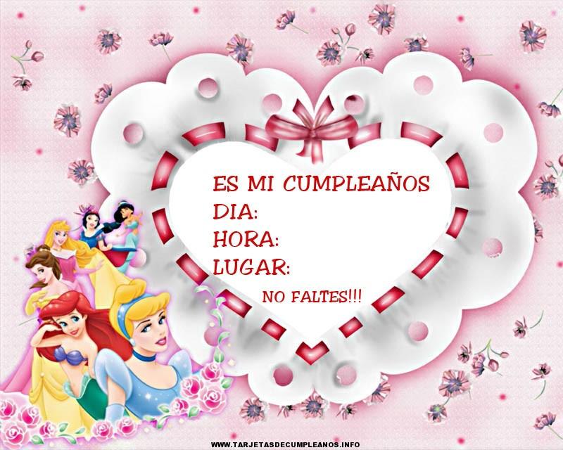 Tarjeta de cumpleaños para niñas | Tarjetas de cumpleaños ...