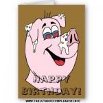 Tarjetas de cumpleaños chistosas