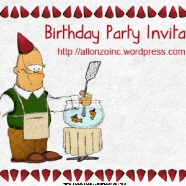 Tarjetas de invitación de cumpleaños adultos