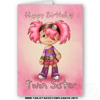 Tarjetas de cumpleaños de emos