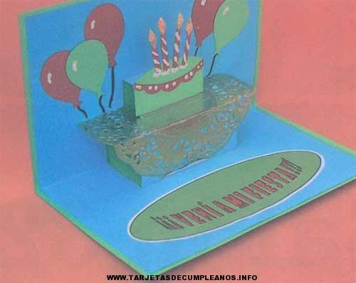 Manualidades tarjetas de cumpleaños