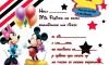 Tarjetas de cumpleaños de Disney para imprimir