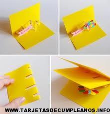 Hacer tarjetas de cumpleaños infantiles