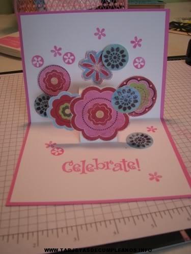 Crear tarjetas lindas de cumpleaños