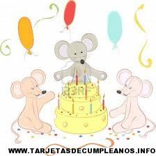 Diseños de tarjetas de cumpleaños de animales
