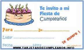 diseño de tarjetas de cumpleaños