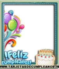 marcos para tarjetas de cumpleaños