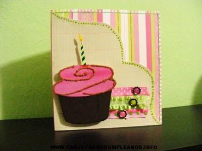 tarjetas de cumpleaños para hacer