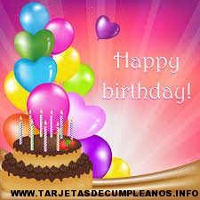 tarjetas felicitaciones de cumpleaños