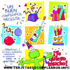 Imágenes para tarjetas de cumpleaños