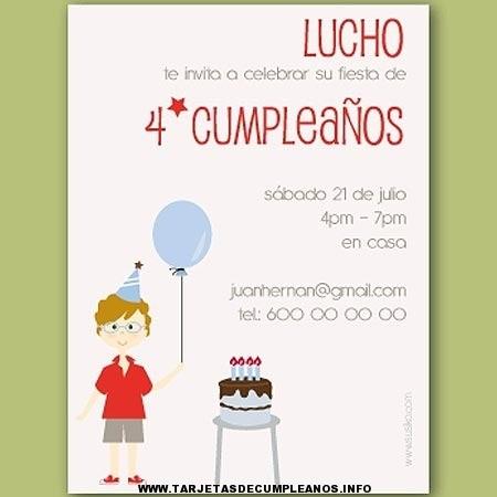 Tarjetas de cumpleaños infantiles gratis
