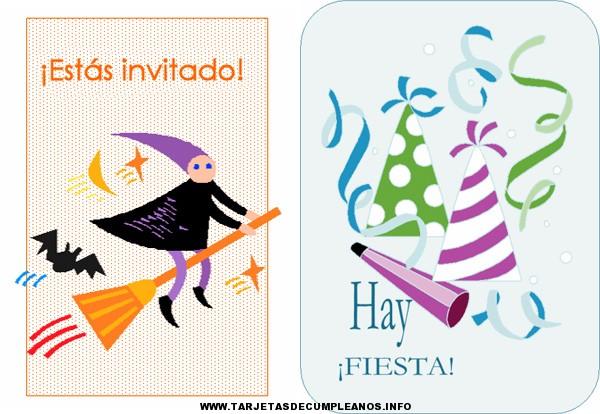 tarjetas de invitacion para cumpleaños de adultos
