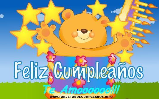 tarjetas de felicitacion para cumpleaños