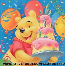 Imágenes de winnie pooh de cumpleaños