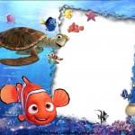 Tarjetas de cumpleaños para imprimir de Nemo