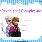 Tarjetas de cumpleaños de Frozen