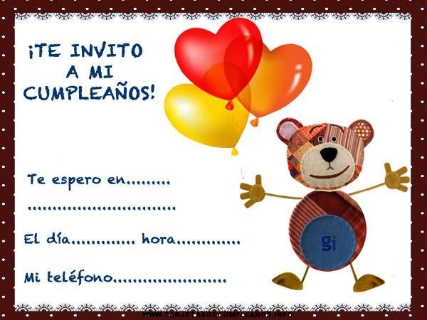 Tarjetas de cumpleaños del oso traposo