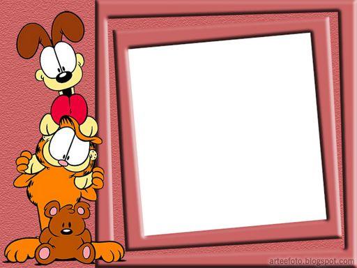 Tarjetas para imprimir de cumpleaños de Garfield