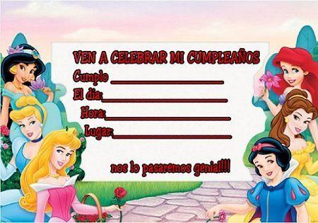 Editar tarjetas de cumpleaños de Disney