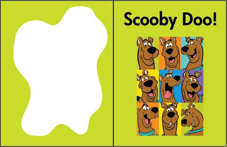 tarjetas de cumpleaños de scooby doo
