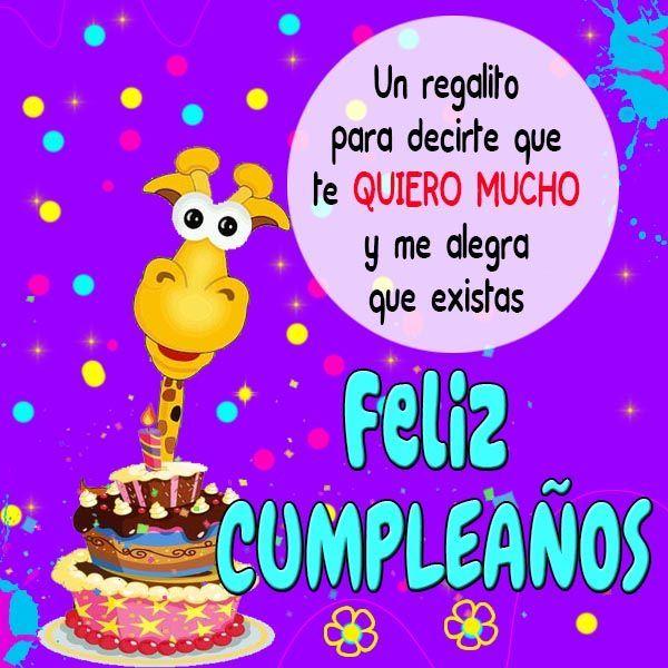 feliz cumpleaños te quiero 2
