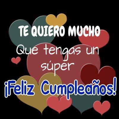 feliz cumpleaños te quiero 5