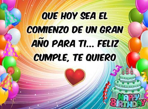 feliz cumpleaños te quiero 9