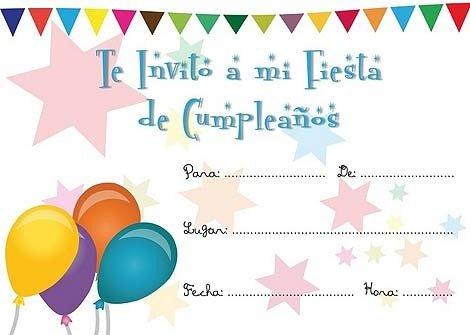 invitaciones de cumpleanos infantiles 2 te invito a mi fiesta de cumpleanos