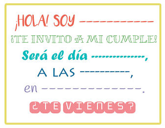 invitaciones de cumpleanos infantiles 3 hola te invito a mi cumple