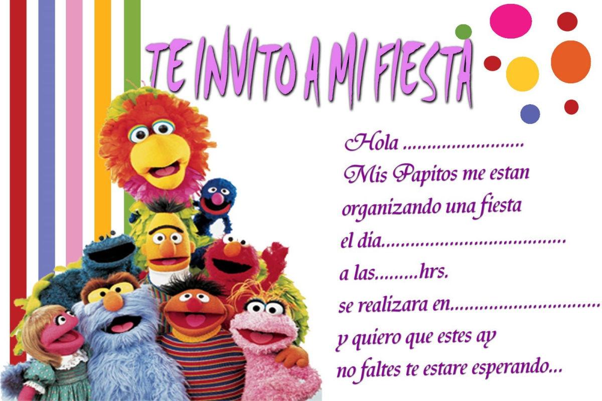 invitaciones de cumpleanos infantiles 5 telenecos
