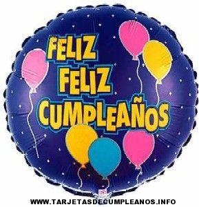 tarjetas de cumpleaños con globos 1 - feliz feliz cumpleaños