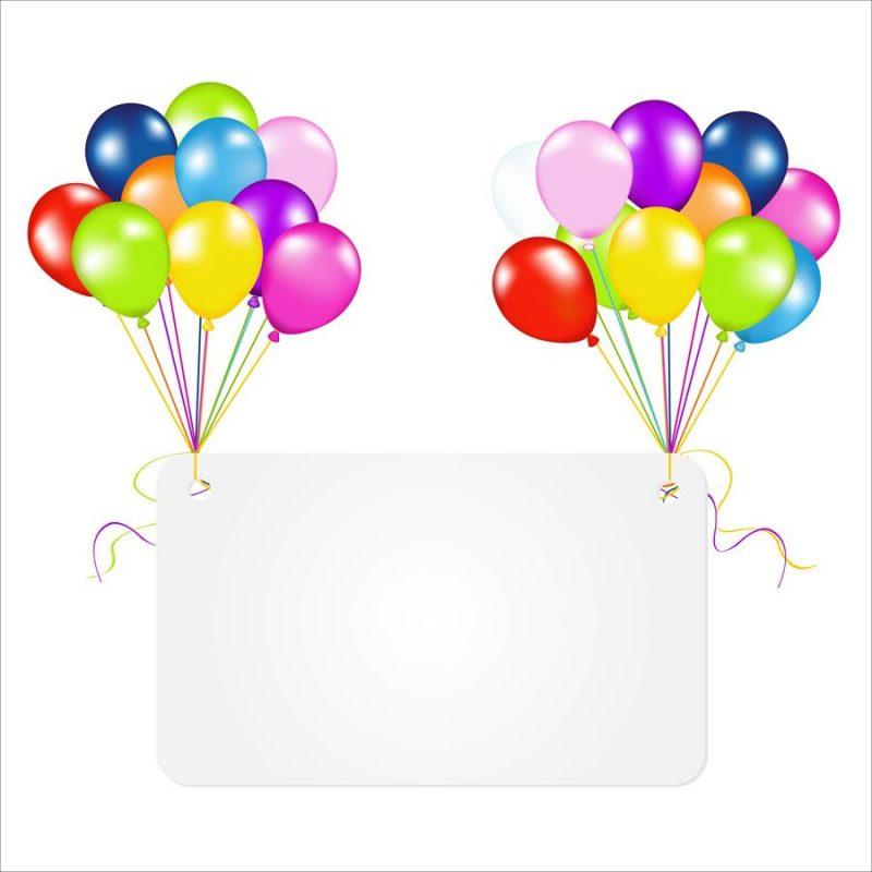 tarjetas de cumpleaños con globos 6