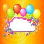 tarjetas de cumpleaños con globos 9