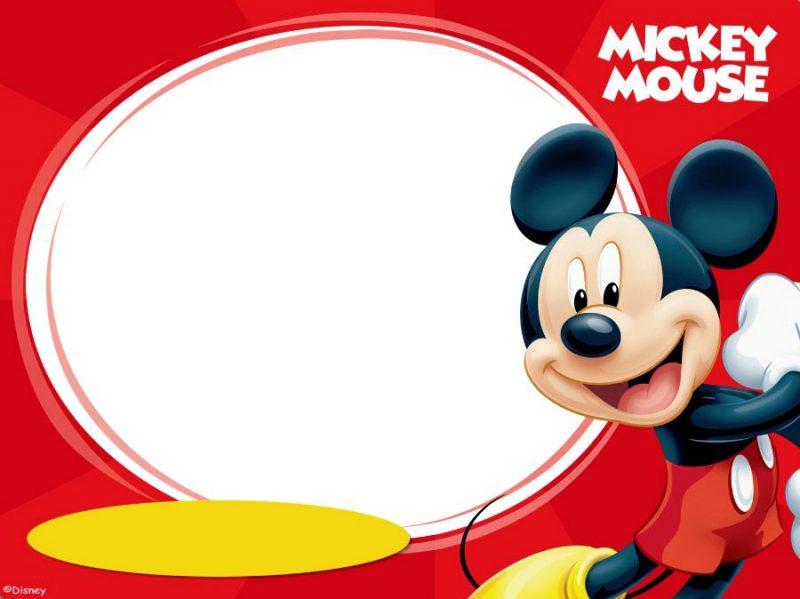 tarjetas de cumpleaños de mickey mouse 4 - mickey mouse