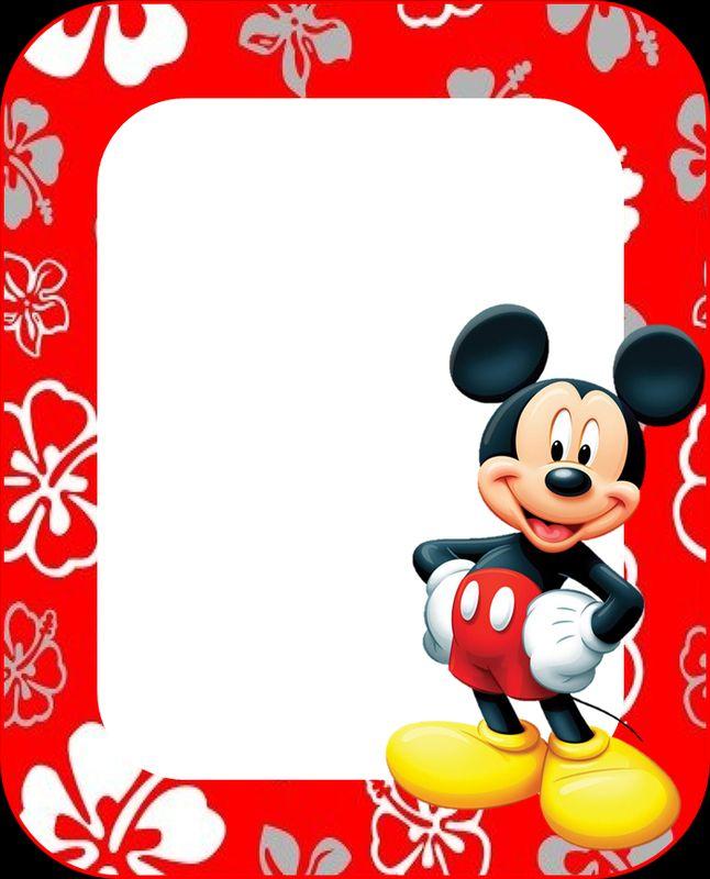 tarjetas de cumpleaños de mickey mouse 5