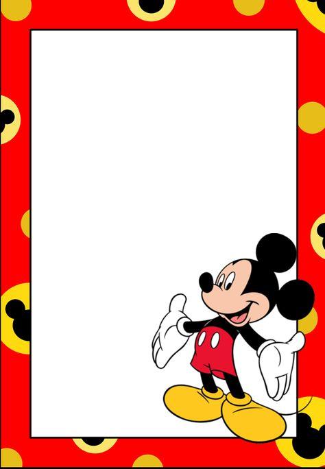 tarjetas de cumpleaños de mickey mouse 6