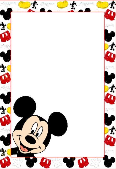 tarjetas de cumpleaños de mickey mouse 7