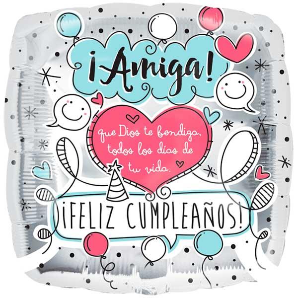 tarjetas de cumpleaños para una amiga 4 - amiga que dios te bendiga todos los dias de tu vida feliz cumpleaños